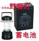 Rechargable Sealed Lead-Acid Battery 6V, 4Ah