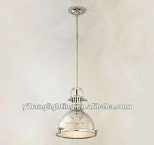 2012 modern industry metal pendant lamp ,marine pendant lamp YP811L polished nickle
