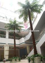 Artificiales fecha de la palmera interior o exterior de la palmera árbol Artificial centro comercial
