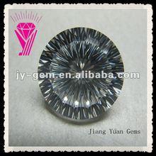 20mm Cubic Zirconia Millennium Cut Round Big Size Gemstone