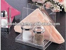Acrylic condiment set