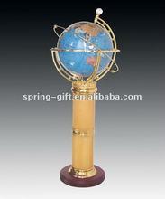 celestial floating tellurian globe