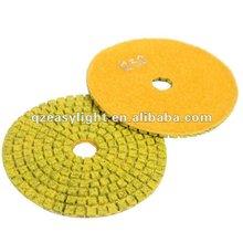 Diamond Flexible Metal Polishing Pad Wet Use for granite,marble, terrazzo, ceramic, cement, concrete