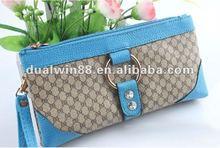 fashion ladies wallet fashin bag pu lady purse