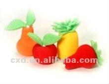 bath sponge fruit shape