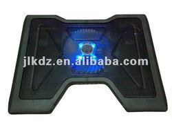 Plastic USB blue light external laptop fan for notebook cooling