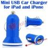 Mini Car Charger, Durable USB Mini Car Charger for iPad/iPhone