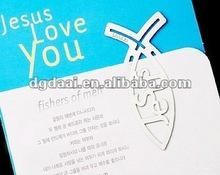 2012 Cute fish metal bookmark