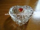 Crystal Heart Shapped Trinket/Jewellery Box MH-QT0204