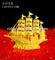 Handarbeit-Gewebe Goldc$seifenerz-beste Segelboothersteller