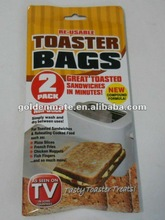 TOASTER BAGS, GREAT TOASTED SANDWICHES IN MINUTES