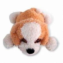 Lie Plush quality cute soft dog stuffed dog toy bone USA