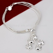 fashion silver charming bracelet