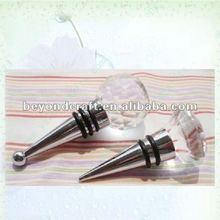 popular crystal bottle stopper ,crystal handicrafts