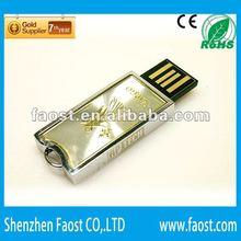 2012 new metal kids usb flash drive