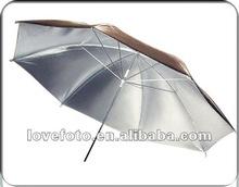 2012 Hot Selling Gold/silver Photo Umbrellas