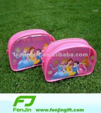 cartoon school pvc pen bag