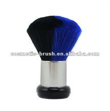 2012 Hot Sell Plastic Handle Aluminium Tube Double Color Goat Hair Shaving Brush
