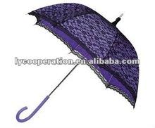 Modern Victorian Lace umbrella- Purple