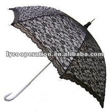 Modern Victorian Lace umbrella- Black&white