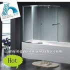 AQSC1502CL aluminium sliding shower screen