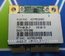 100% bland new original ATHEROS AR5B195 (WB195) 802.11N WIFI+AR3011 Bluetooth wireless Mini PCI-E card .802.11n.
