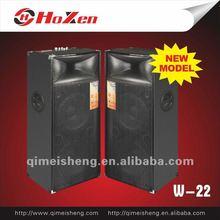Hi-fi professional huge power double horn stage speaker