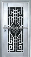 Stainless steel door with heavy duty design