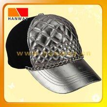 leather strap snapback hat