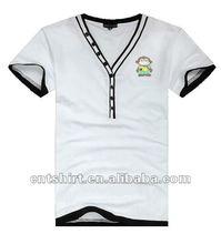 Fashion design organic bamboo t shirts for men
