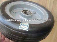 """10x3"""" heavy duty solid rubber wheel"""