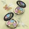 Charming and mini 4 colors eyebrow powder set