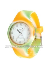 2012 new style Silicone Fashion watch