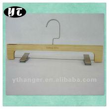 AL-156 natural wooden pants hanger clamp