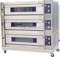gas bread baking oven/bakery gas oven(manufacturer)