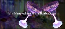 glow margarita glass