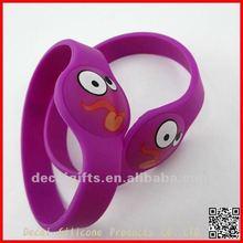 Bird style Silicon wrist band 2012 for children