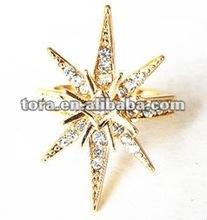fashion star shaped engagement rings