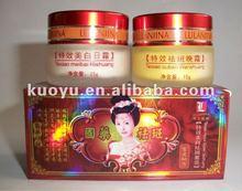 Chinese herbal hot selling lulanjina whitening cream