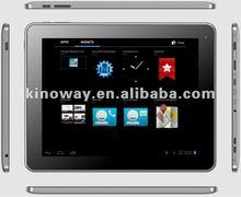 9.7 rk3066 tablet 1.6 GHz ARM Cortex A9 android 4.0 1G DDR3/16GB 3G wifi