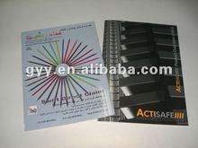 Customized Instruction/ booklet/leaflet/brochures printing gyy