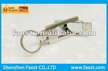 promotional swivel metal flash drive usb with company logo for gift