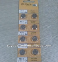 AG13 Button battery ,AG button cell ,watch battery ,
