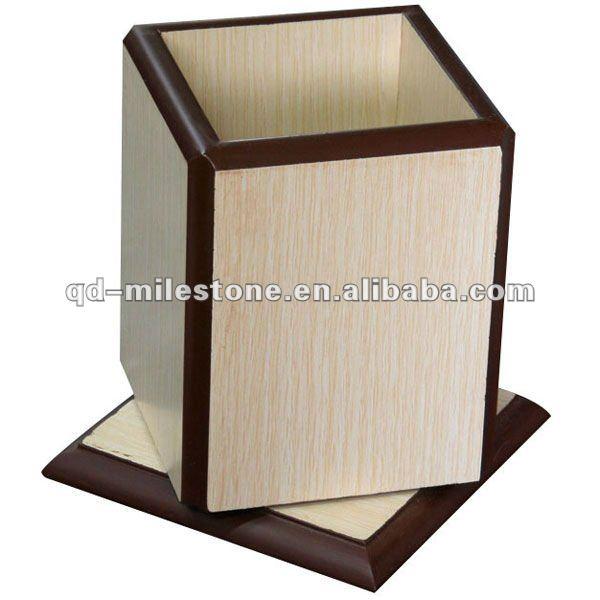 Caja de lápices de madera de la fábrica