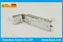 2012 high quality crystal metal with logo transformer usb flash memory