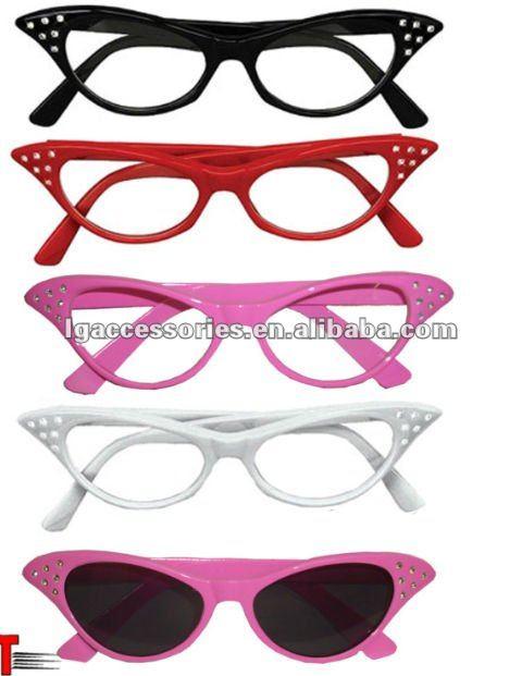 Grasso signore rosa 50's stile novità costume occhiali addio al nubilato