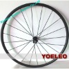 700c 2012 carbon front wheel clincher 20mm with free skewers and brake pads