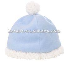 lovely warm polar fleece winter baby hats