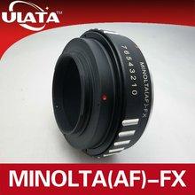 For AF/Minolta MA Lens to Fuji FX Mount Adapter Ring