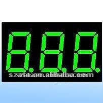LED digital display module 7segment 3 digits